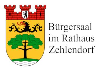 Zehlendorf: Bürgersaal im Rathaus Zehlendorf