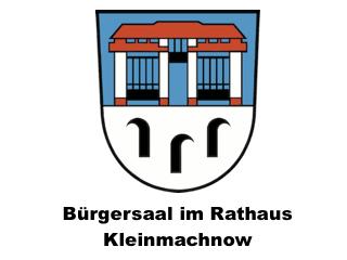 Kleinmachnow: Bürgersaal im Rathaus Kleinmachnow